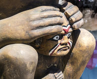 Alaskan Totem Stock Image