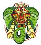 Totem animal.Elephant Stock Image