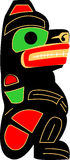 Totem Bear Royalty Free Stock Photo