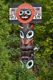 Totem de côte ouest Photo libre de droits