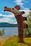 Totem de natif américain Image stock