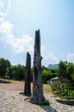 Totem de taoïsme Photographie stock libre de droits