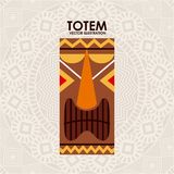 Totem design Royalty Free Stock Photography