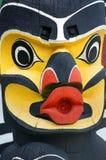 Totem Detail Stock Photo