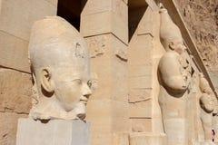 Totem di Hatshepsut sull'egitto Immagini Stock Libere da Diritti