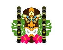 Totem di Tiki Fotografie Stock