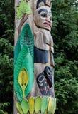 Totem do Alasca fotografia de stock