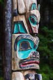 Totem do Alasca nativo foto de stock royalty free