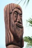 Totem en bois Image libre de droits