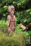 Totem en bois Photos libres de droits