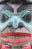 Totem Face Stock Photography