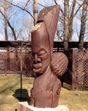Totem face Royalty Free Stock Photos
