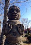 Totem face Royalty Free Stock Photo