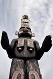 Totem Guarding the Spirits stock photo