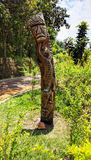Totem:Iconic symbol of the tribe stock images