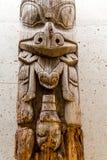 Totem inuit antico Fotografia Stock Libera da Diritti