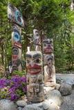 Totem - Kanada Royaltyfria Foton