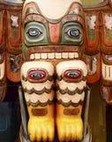Totem with Many Eyes royalty free stock photo