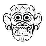 Totem Mask Stock Photos