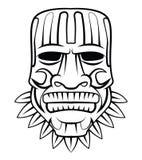 Totem-Maske lizenzfreie abbildung