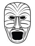 Totem-Maske stock abbildung