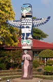 Totem in Mini Siam Park Stock Photo