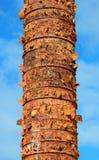 Totem in old San Juan. Puerto Rico stock photo