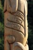 Totem palo antico immagine stock libera da diritti