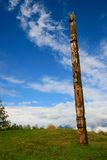 Totem Pole. In Vancouver, British Columbia Stock Photos