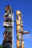 Totem Pole Stockbild