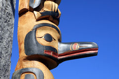 Totem Pole stock photography