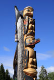 Totem Pole Stock Image