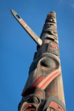 Totem Pole Stock Photo