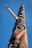 Totem Pole Stockfoto
