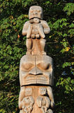 Totem Pole Stock Photography