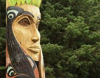 Totem Pole Royaltyfri Bild