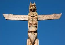 Totem Pole Royaltyfri Fotografi