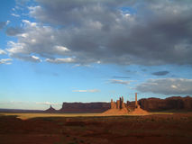 Totem Pole. In Monument Valley, Arizona stock photography