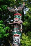 Totem pole royalty free stock photography