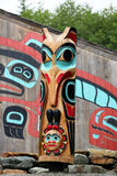 Totem Pole, Alaska Royalty Free Stock Photography
