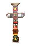 Totem Pole. royalty free stock photo