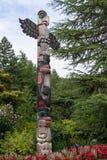 Totem Pole British Columbia Canada Stock Image
