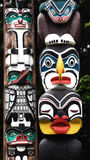 Totem Pole Canada Royalty Free Stock Image