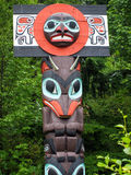 Totem Pole Canada Royalty Free Stock Photos