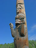 Totem Pole Carvings Royalty Free Stock Image