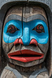 Totem Pole close up Stock Photos