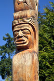 Totem Pole Detail Royalty Free Stock Photo