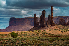 Totem Pole Monument Valley Stock Images