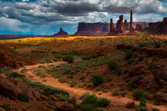 Totem Pole Monument Valley Stock Photos