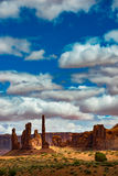Totem Pole Monument Valley Royalty Free Stock Photography